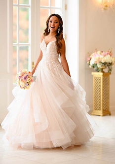 Trumpet Wedding Gowns 012 - Trumpet Wedding Gowns